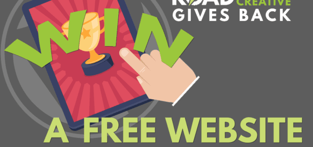 nonprofit win a free website