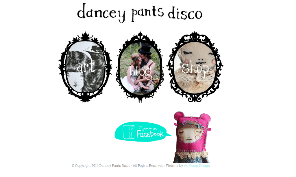 dancey pants disco website