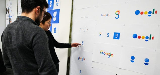 Google's Logo Design Process