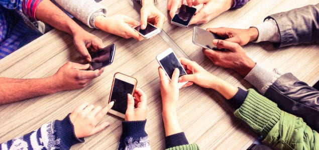 group on phones