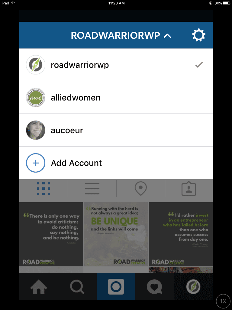 How To Switch Between Accounts on Instagram
