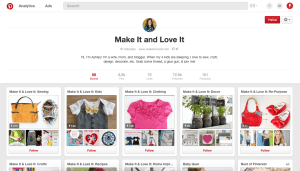 make it and love it pinterest page what social media platform should i be on?