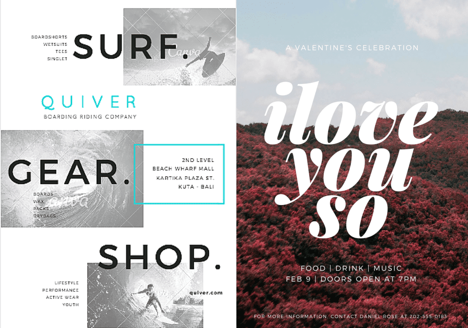 flyers canva graphic design apps