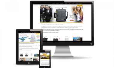 Zion Bags mobile responsive design WooCommerce