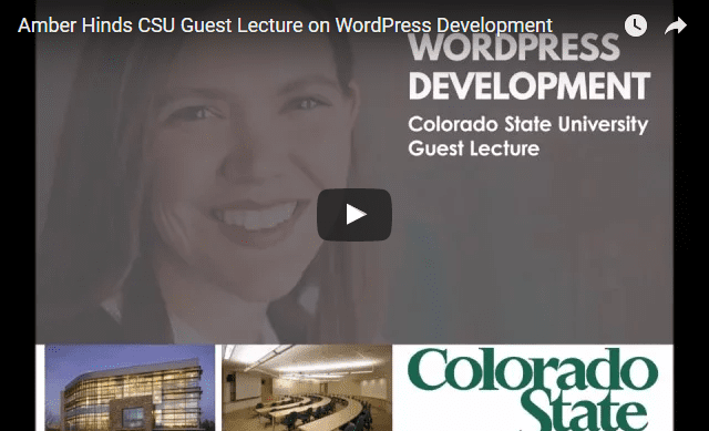 CSU Lecture: WordPress Development in 43 Minutes