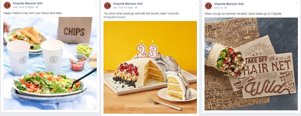 chipotle facebook awesomeness