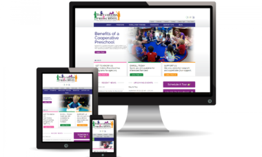 fort-collins-preschool-mobile-responsive-website-design