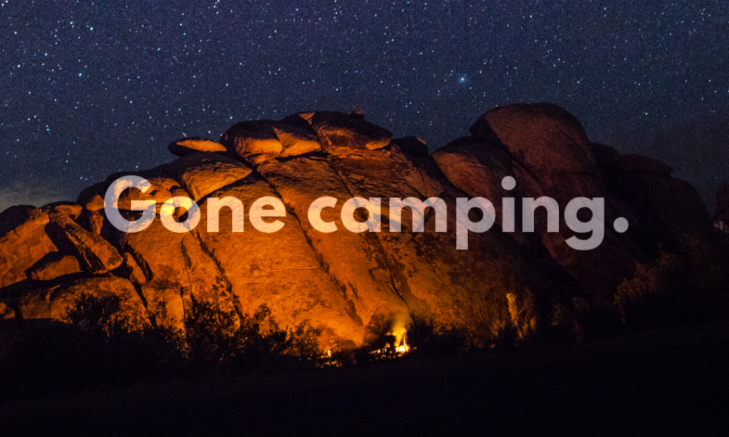 Gone Camping: Our WordCamp 2016 Fall Tour