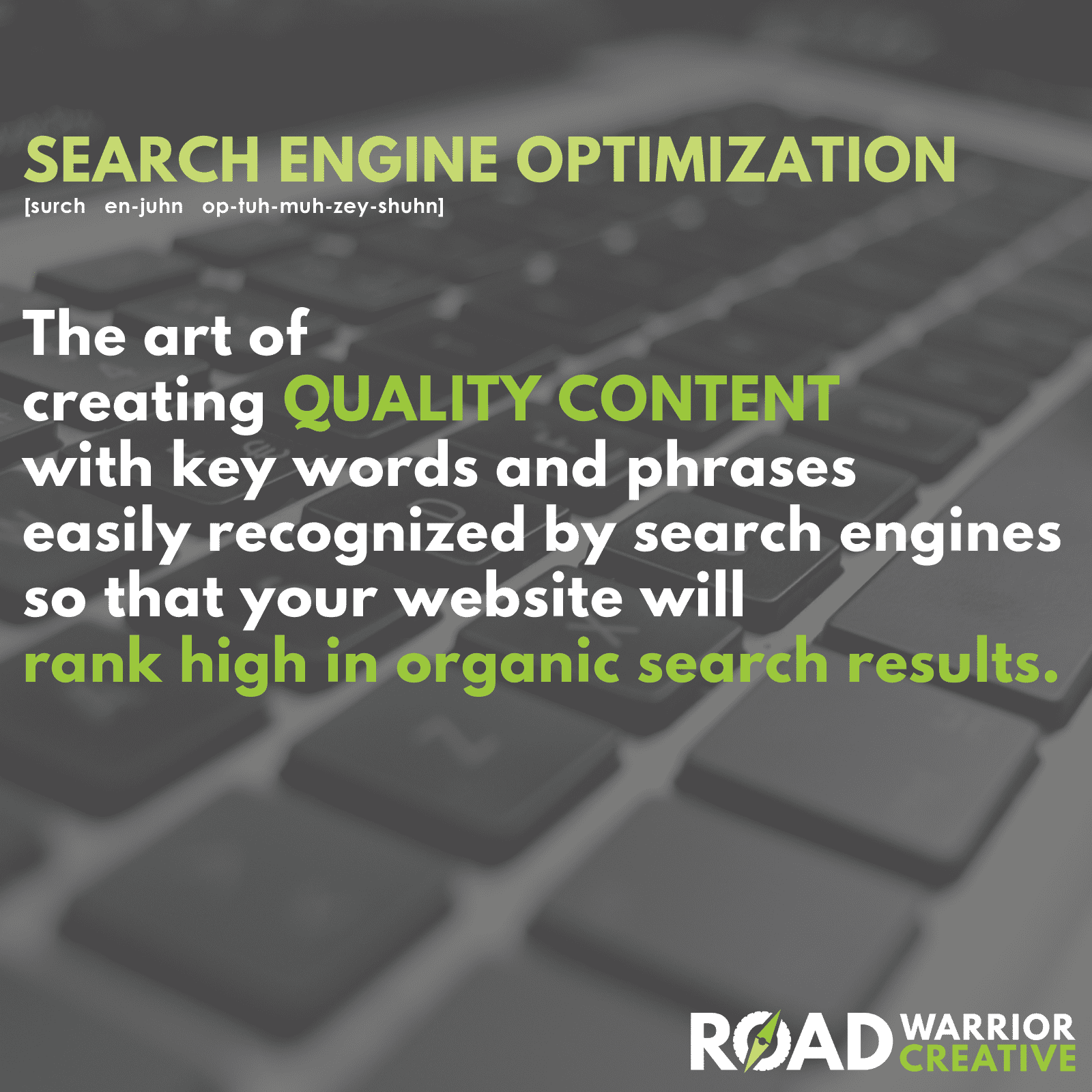 Fort Collins Search Engine Optimization Workshop - Road Warrior Creative
