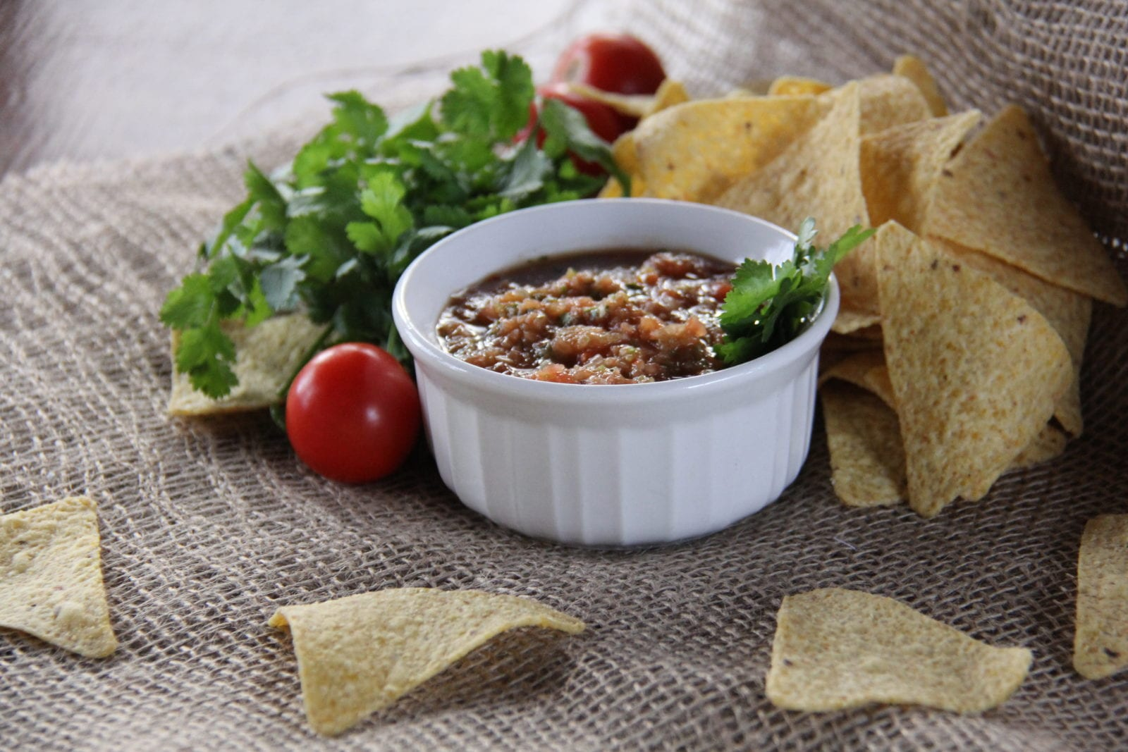 Road Warrior Creative Food Photography - Chips and Salsa