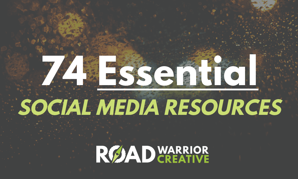 74 Social Media Resources to Keep You Up-To-Date On Trends