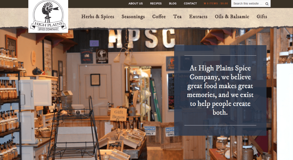 about high plains spice company