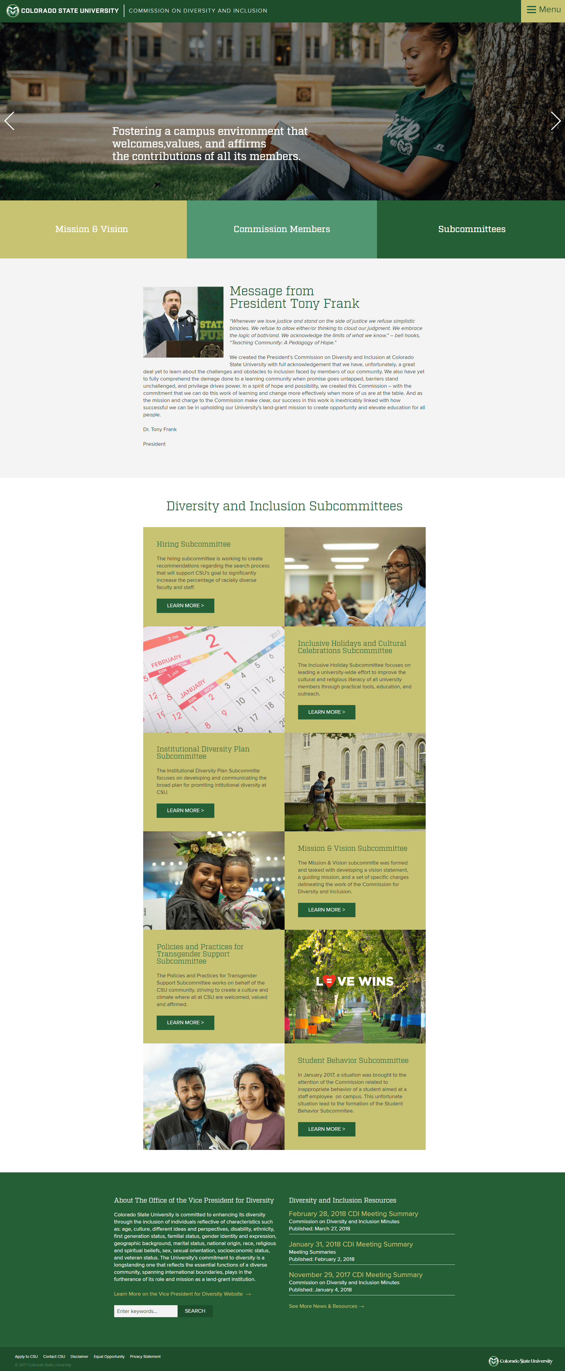 CDI Home Page