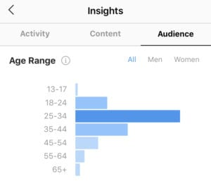 Instagram Audience Age Insights