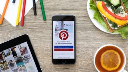 pinterest for food brands
