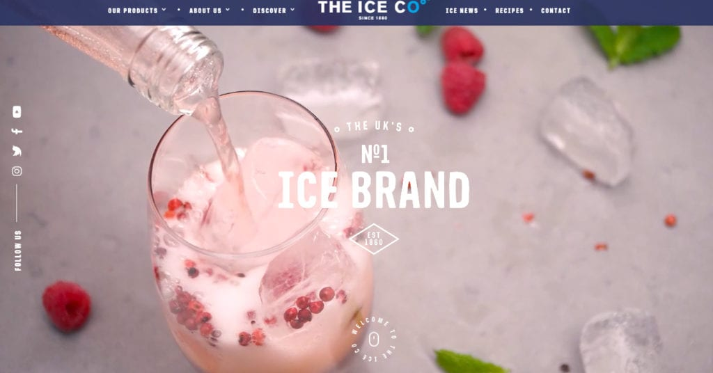 The Ice Co. Home page