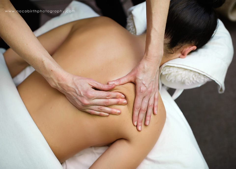 Professional Business Photos: Massage Therapist at Work