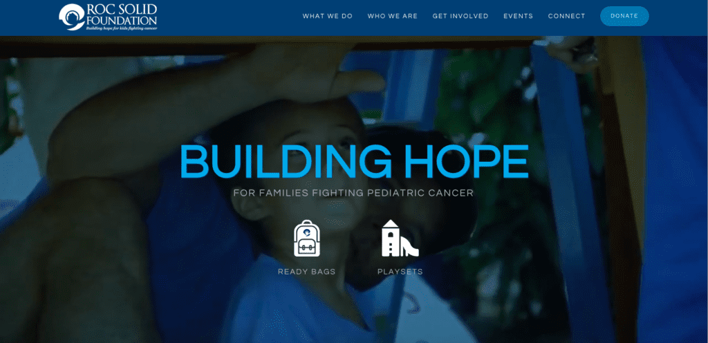 ROC Solid Foundation home page