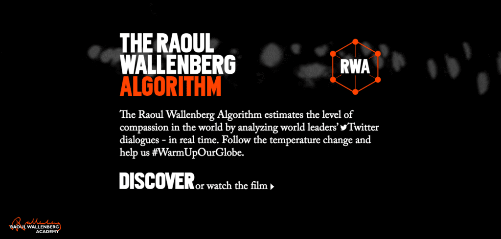 Raoul Wallenberg Algorithm home page