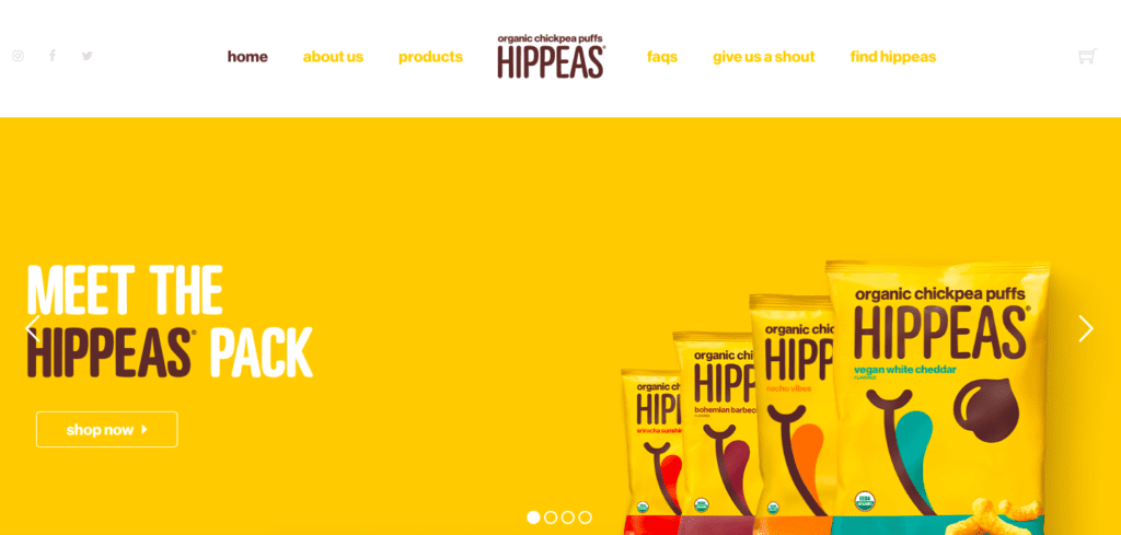 Hippeas home page