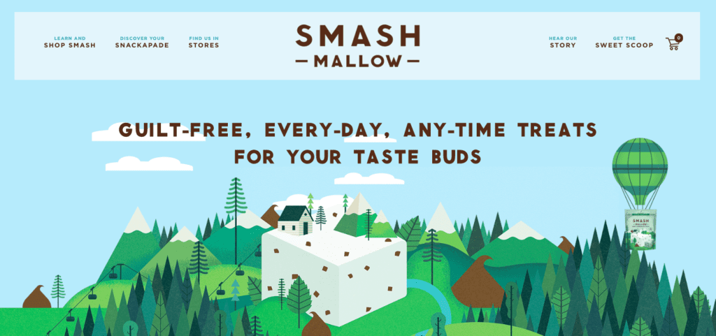 Smashmallow home page