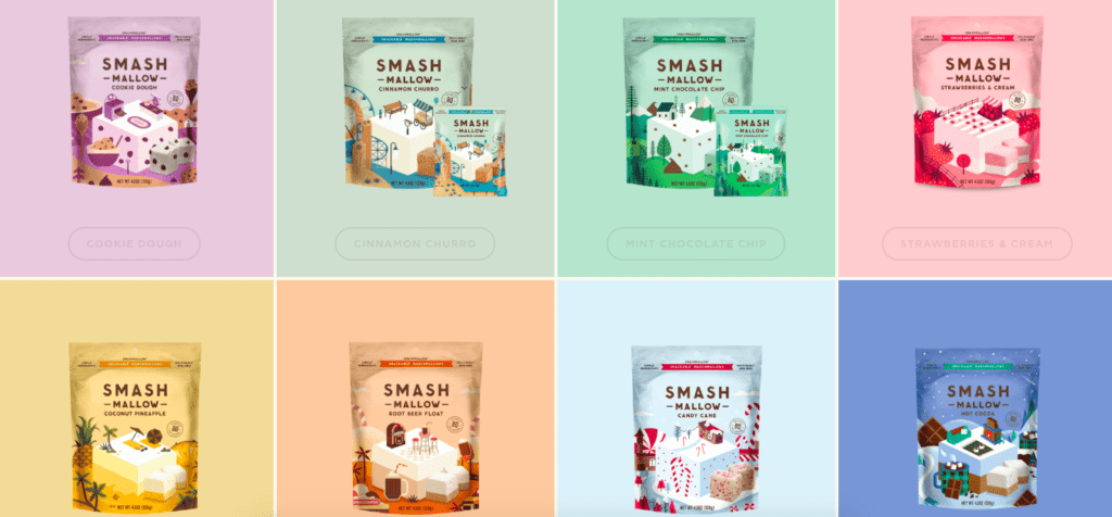 smashmallow products