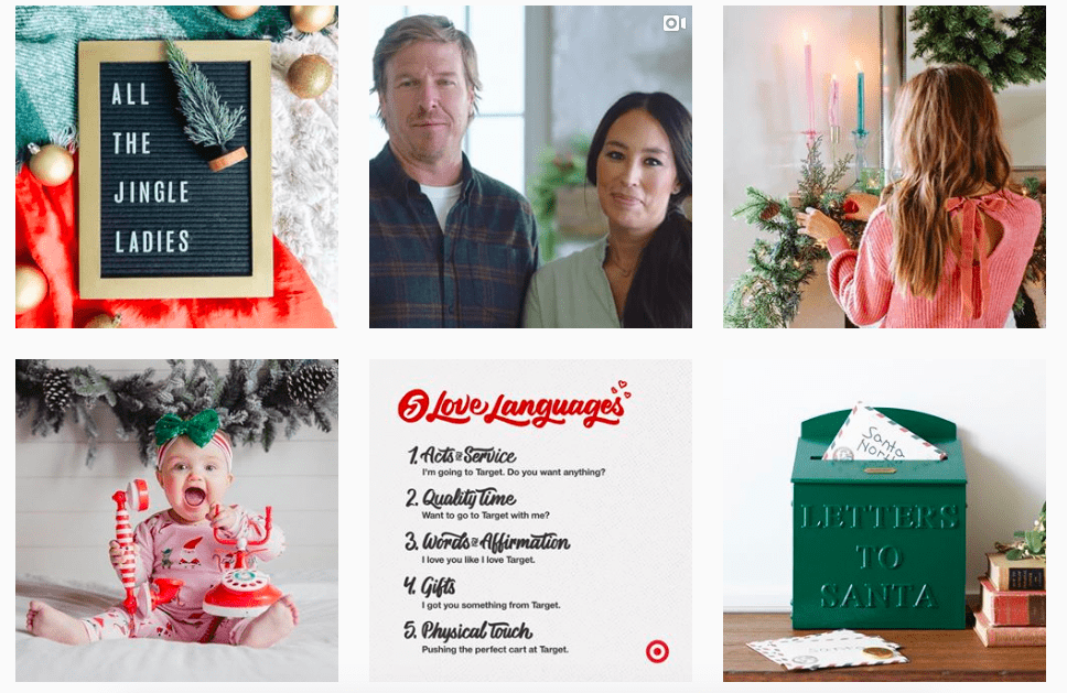 Target's christmas campaign 2018