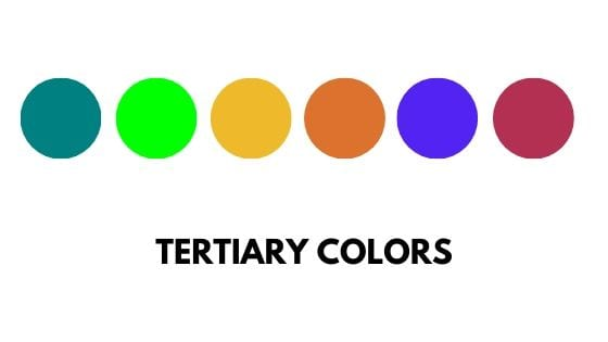 tertiary color examples