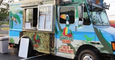 shaved Ice Island Food Truck - Austin Food Marketing