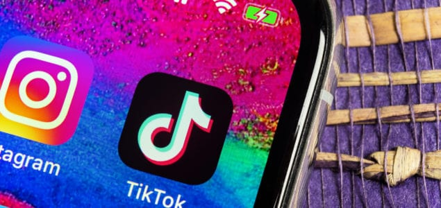 tiktok app on iphone home screen