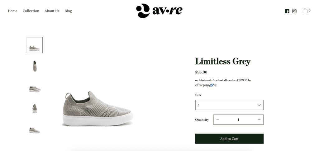 AVRE individual product page