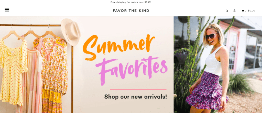 favor the kind home page